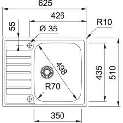 Franke AGX 211-62 (127.0476.450)