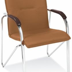 Apmeklētāju krēsls SAMBA brown