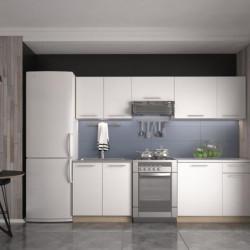 Virtuves komplekts Halmar Daria 240cm White