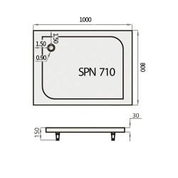 SPN PT-710K 80x100