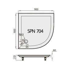 SPN PT-704 90x90
