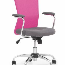 Bērnu krēsls Halmar Andy Pink
