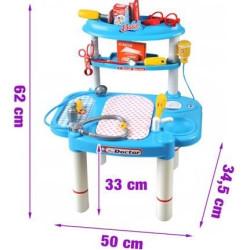 Bērnu ārsta komplekts 62cm 1401