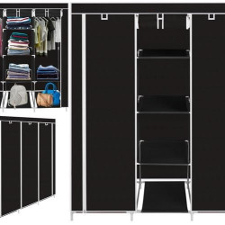 Ģērbtuve XXL Textile Black 9978