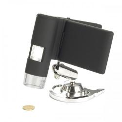Kompakts Digitālais Mobīlais Kabatas Mikroskops ar Displeju Levenhuk DTX 500 LCD 20x-500x