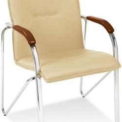 Apmeklētāju krēsls Halmar Samba Beige