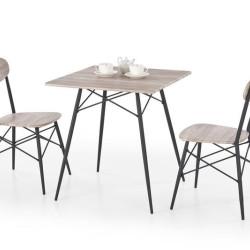 Komplekts Halmar Kabir (Galds + 2 krēsli)