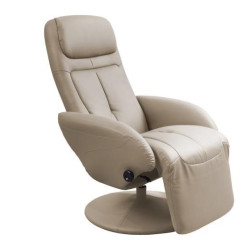 Atpūtas krēsls Halmar Optima Cappuccino