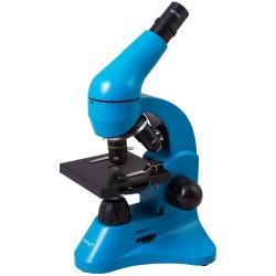 Mikroskops ar Eksperimentālo Komplektu K50 Levenhuk Rainbow 50L Debeszilā krāsā 40x - 800x
