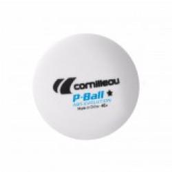 Cornilleau P-Ball 1* ABS ITTF White