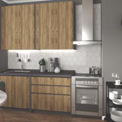Virtuves komplekts Halmar Idea 180cm Wotan