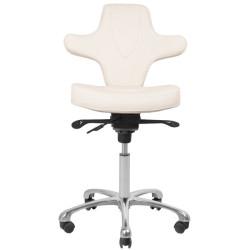 Kosmetologa krēsls Azzurro White 052