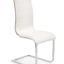 Krēsls Halmar K104 White/Oak