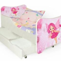Bērnu gulta Halmar Happy Fairy