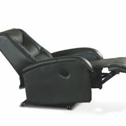 Atpūtas krēsls Halmar Jeff Black