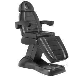 Kosmetoloģijas krēsls Lux Black (0709)