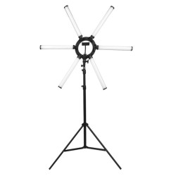 Gredzena LED lampa grimam (130470)