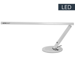 Galda lampa Slim 20W Silver (102182)