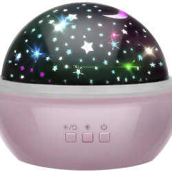 Lampiņa ar projektoru Pink (16859) Ir uz vietas!