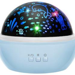 Lampiņa ar projektoru Blue (16858) Ir uz vietas!